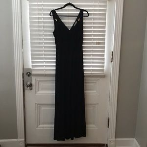 Black floor length maxi dress!